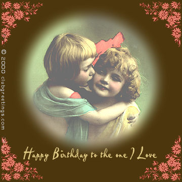 Myfuncards one i love send free birthday ecards birthday love one i love m4hsunfo
