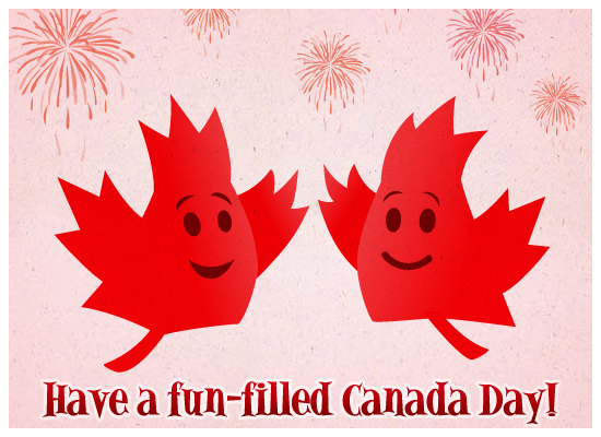 Canada Day Maple Leaves