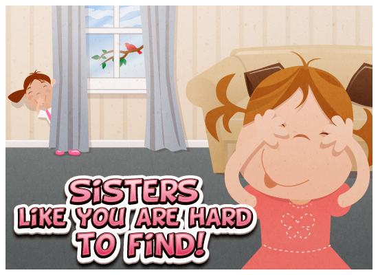Myfuncards Sisters Like You Send Free Holidays Ecards Sisters