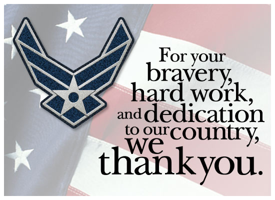 Thanks - Air Force