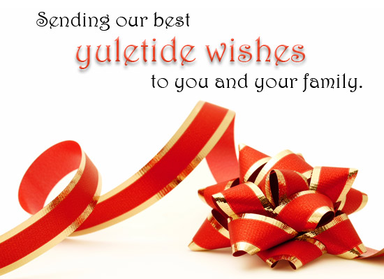 Yuletide Wishes