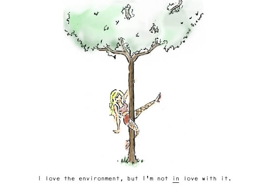 Love the environment