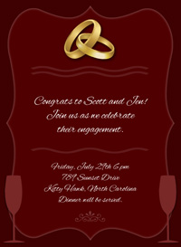 Online Party Invite as best invitation layout