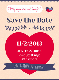 Free online save the date ecards