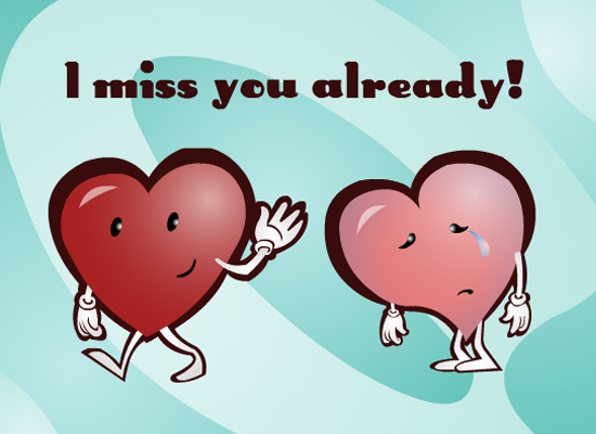 Myfuncards i miss you already send free love dating ecards myfuncards i miss you already send free love dating ecards thinking of you greetings m4hsunfo