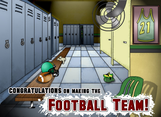 Making The Football Team