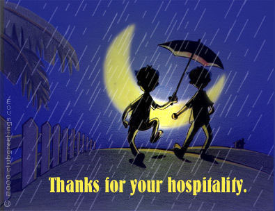 MyFunCards | Thanks Hospitality - Send Free Thank You eCards ...